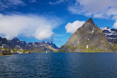 Scenic norwegian fjord Royalty Free Stock Photos