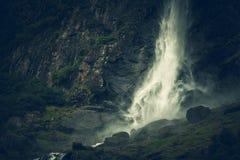 Scenic Norwegian Waterfall Stock Photos