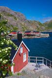Scenic Nusfjord Royalty Free Stock Image