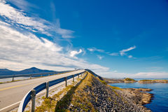 Scenic ocean road Stock Images