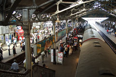 Scenic old british Rrailway station of Colombo Stock Photography