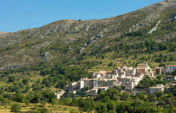 Scenic old hilltop village in Provence region of France Royalty Free Stock Images