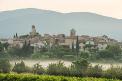 Scenic old hilltop village in Provence region of France Stock Image