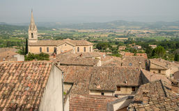 Scenic old hilltop village in Provence region of France Stock Images