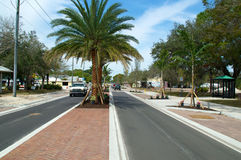 Scenic Old 41 Rd in Bonita Springs Stock Photo