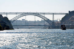 Scenic over the river Douro Stock Image
