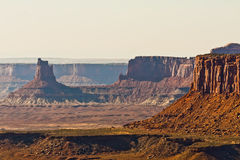 Scenic Overlook from Canyonlands' Island in the Sky, Moab Desert Royalty Free Stock Photos
