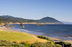 Scenic overlook on the Pacific Ocean Royalty Free Stock Photo