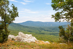 Scenic overlook Royalty Free Stock Image