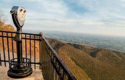 Scenic Overlook Viewer Stock Photo
