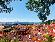 Scenic View of the Glorious Prague, Czech Republic royalty free stock images
