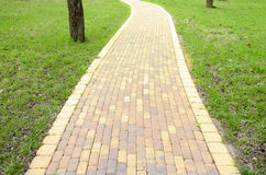 Scenic pathway Royalty Free Stock Photography