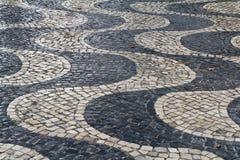 Scenic paved sidewalk Stock Photography