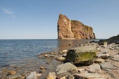 Scenic Perce Rock Stock Photo