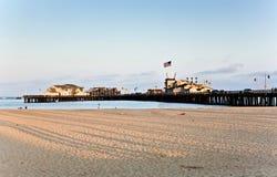 Scenic pier in Santa Barbara Stock Photography