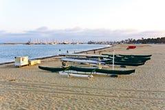 Scenic pier in Santa Barbara Stock Image
