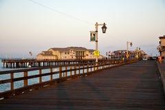 Scenic pier in Santa Barbara Stock Photos