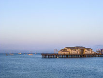 Scenic pier in Santa Barbara Royalty Free Stock Image
