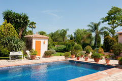 Scenic pool Royalty Free Stock Photography