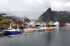Scenic port Stock Photos
