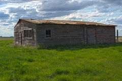 Scenic prairie barn. This scenic prairie barn standing the test of time. The last of the few remaining Royalty Free Stock Images