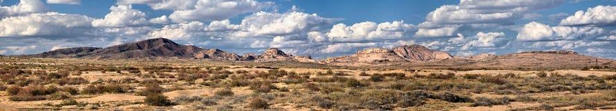Scenic prairie panoramic Stock Image