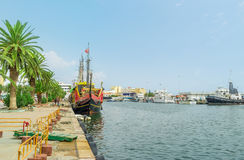 The scenic promenade of Sousse Royalty Free Stock Image