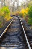 Scenic railroad in autumn Stock Images