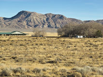 Scenic ranch in Northern Nevada Royalty Free Stock Images