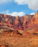 Scenic  red rock desert Royalty Free Stock Photography