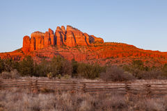 Scenic Red Rock Landscape Royalty Free Stock Images