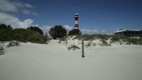 Geraldton Australia Lighthouse stock video footage