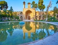 The old Persian architecture, Tehran stock photography