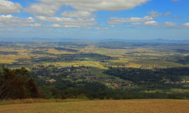 Scenic rim of Gold Coast Hinterland Stock Photos