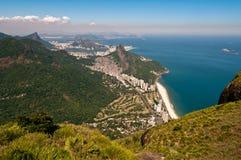 Scenic Rio De Janeiro Aerial View Royalty Free Stock Image