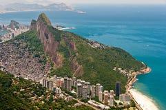 Scenic Rio de Janeiro Aerial View stock images