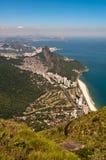 Scenic Rio de Janeiro Aerial View stock photos
