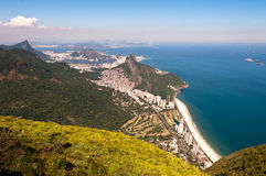 Scenic Rio de Janeiro Aerial View stock photo