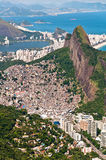 Scenic Rio de Janeiro Aerial View Royalty Free Stock Photo