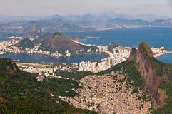Scenic Rio de Janeiro Aerial View Stock Image