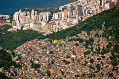 Scenic Rio de Janeiro Aerial View Royalty Free Stock Image