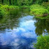 Scenic River Royalty Free Stock Images