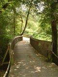 Scenic road. Scenic nature trail Smyrna Ga stock photos