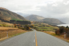 Scenic Road Royalty Free Stock Photography
