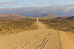 The scenic road C12 to Fish River Canyon, Namibia Stock Images