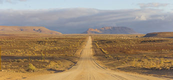 The scenic road C12 to Fish River Canyon, Namibia Stock Photos