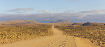 The scenic road C12 to Fish River Canyon, Namibia Stock Photo