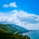 Scenic Road Cabot Trail Cape Breton Island NS Canada Stock Photo