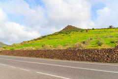 Scenic road in Haria valley Royalty Free Stock Photography