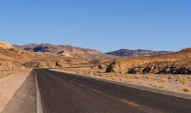 Free Scenic Road In The Desert Of Nevada - Death Valley National Park Stock Image - 106687831